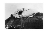 Army Zeppelin Z2 Stranded Near Weilburg During a Storm, Germany, 1910 Giclee Print