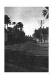 New Street, Baghdad, 1918 Giclee Print