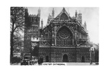 Exeter Cathedral, 1936 Giclee Print