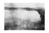 Mosul Bridge, Mesopotamia, WWI, 1918 Giclee Print