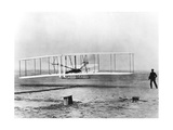 Wilbur and Orville Wright and the First Powered Flight, North Carolina, December 17 1903 Giclee Print