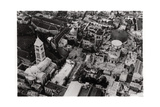 Aerial View of the Church of the Holy Sepulchre, Jerusalem, Palestine, from a Zeppelin, 1931 Giclee Print