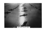 The British Fleet at King George V's Jubilee Review, Spithead, July 1935 Giclee Print