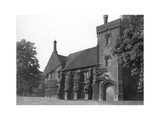 Old Hatfield House, Herfordshire, 1896 Giclee Print by  Valadon & Co Boussod