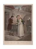 Knives Scissars and Razors to Grind, Cries of London, C1870 Giclee Print by Francis Wheatley
