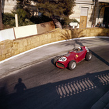 Phill Hill Racing a Ferrari D246, Monaco Grand Prix, Monte Carlo, 1959 Photographic Print