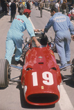 Ferrari of Chris Amon at the Spanish Grand Prix, Jarama, Madrid, 1968 Photographic Print