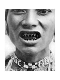 A Bagobo, with Filed Teeth Giclee Print