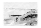 Right Bank of the Tigris River and Samarra, Mesopotamia, 1918 Giclee Print
