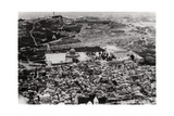 Aerial View of the Mosque of Omar, Jerusalem, Palestine, from a Zeppelin, 1931 Giclee Print