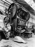 Giant Press, Vauxhall Factory, Luton, Bedfordshire, 1935 Photographic Print