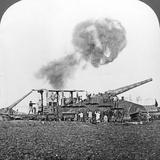 British 16 Inch Railway Guns in Action, World War I, C1914-C1918 Photographic Print