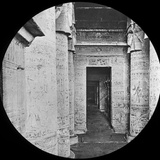 Interior of the Temple of Dendera, Egypt, C1890 Photographic Print by  Newton & Co