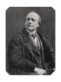 Theodore De Banville, French Poet and Writer, 1873 Giclee Print