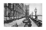 The Terrace of the House of Commons, London, 1926-1927 Giclee Print