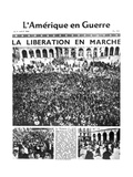 Front Page of L'Amerique En Guerre Newspaper, 9 August 1944 Giclee Print