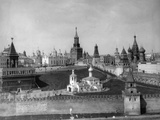 View of the Moscow Kremlin from the Moskva River, Russia, C1908-C1910 Photographic Print by  Scherer Nabholz & Co