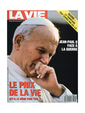 Front Cover of La Vie, Febuary 1991 Giclée-Druck