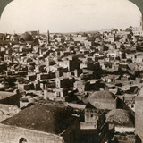 Jerusalem, as Seen from the Nothern Wall, Palestine, 1897 Photographic Print