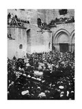 The Washing of the Feet, Church of the Holy Sepulchre, Jerusalem Giclee Print