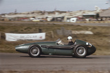Roy Salvadori Driving an Aston Martin DBR4, Dutch Grand Prix, Zandvoort, Holland, 1959 Photographie