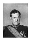 Albert, King of Belgium, First World War, 1914 Giclee Print by W&d Downey