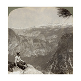 Yosemite Valley, California, USA, 1902 Giclee Print by  Underwood & Underwood