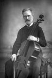 Carlo Alfredo Piatti (1822-190), Italian Violoncellist, 1890 Reproduction photographique par W&d Downey