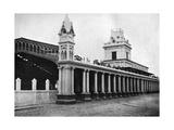 Paraguayan Central Railway Station, Asuncion, Paraguay, 1911 Giclee Print