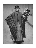 Flower Girl, London, 1926-1927 Giclee Print