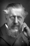 Sir Edwin Arnold (1832-190), English Poet and Journalist, 1893 Reproduction photographique par W&d Downey