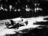Jimmy Murphy Driving a Duesenberg to Victory in the French Grand Prix, Le Mans, 1921 Photographic Print