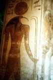 Wall Painting from the Temple of Rameses Ii, Abu Simbel, Egypt, 13th Century Bc Photographic Print