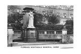 Florence Nightingale Memorial, Derby, 1937 Giclee Print