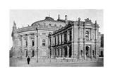 The Court Theatre, Vienna, Austria, 1899 Giclee Print