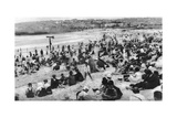 Bondi Beach, Sydney, New South Wales, Australia, C1924 Giclee Print