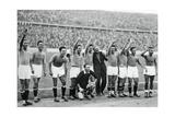 Italian National Football Team, Berlin Olympics, 1936 Giclee Print
