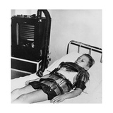 Eleven Yeat Old Boy in an Iron Lung, Beaujon Hospital, Paris, C1947-1951 Giclee Print