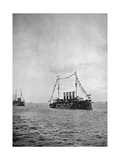 Naval Review Off the Coast of Portsmouth, 1907 Giclee Print
