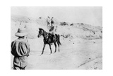 Mounted Turkish Officer Leaving Mosul, Mesopotamia, WWI, 1918 Giclee Print