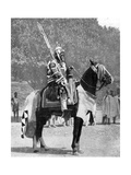 Royal Bodyguard in Ancient Armour, Northern Nigeria, 1936 Giclee Print