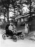 An Oldsmobile Curved Dash, 1902 Photographic Print