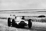 3 Litre Mercedes in Action, French Grand Prix, Rheims, 1938 Photographic Print