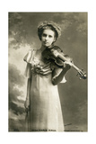 Marie Hall, English Violinist, C1903 Giclee Print