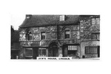 Jew's House, Lincoln, C1920S Giclee Print