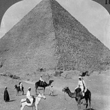 King Khufu's Tomb, the Great Phyramid of Giza, Egypt, 1905 Photographic Print