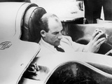 Stirling Moss in the Mg Ex181, 1957 Photographic Print