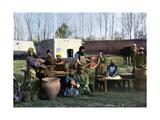 Gut-Dressing Works, Bukhara, Uzbekistan, C1890 Giclee Print