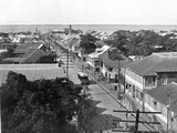 Old King Street Looking South, Kingston, Jamaica, C1905 Photographic Print