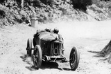 Pietro Bordino in a Fiat 803, in the Targa Florio Race, Sicily, 1924 Photographic Print